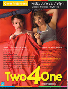 Queer Projections presents 'Two 4 One'