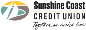 Sunshine Coast Credit Union logo.